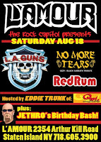 LA Guns Plays L'Amour on August 18th