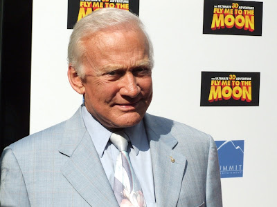 Buzz Aldrin at Fly Me to the Moon Screening @ Regal Union Square
