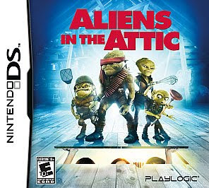 Aliens In The Attic Nintendo Ds Game Review Playlogic