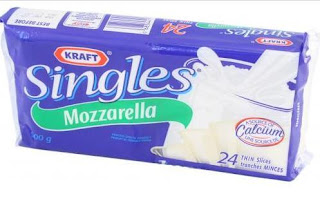 little halal discoveries: Kraft Mozzarella Singles