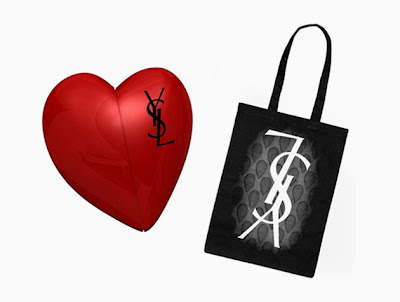 C2G  Yves Saint Laurent Tote Bag and Heart USB Promotion 6106339e0eb92