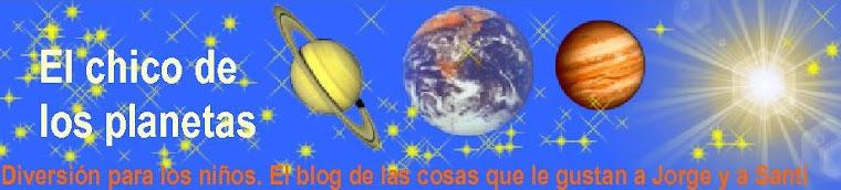 El chico de los planetas