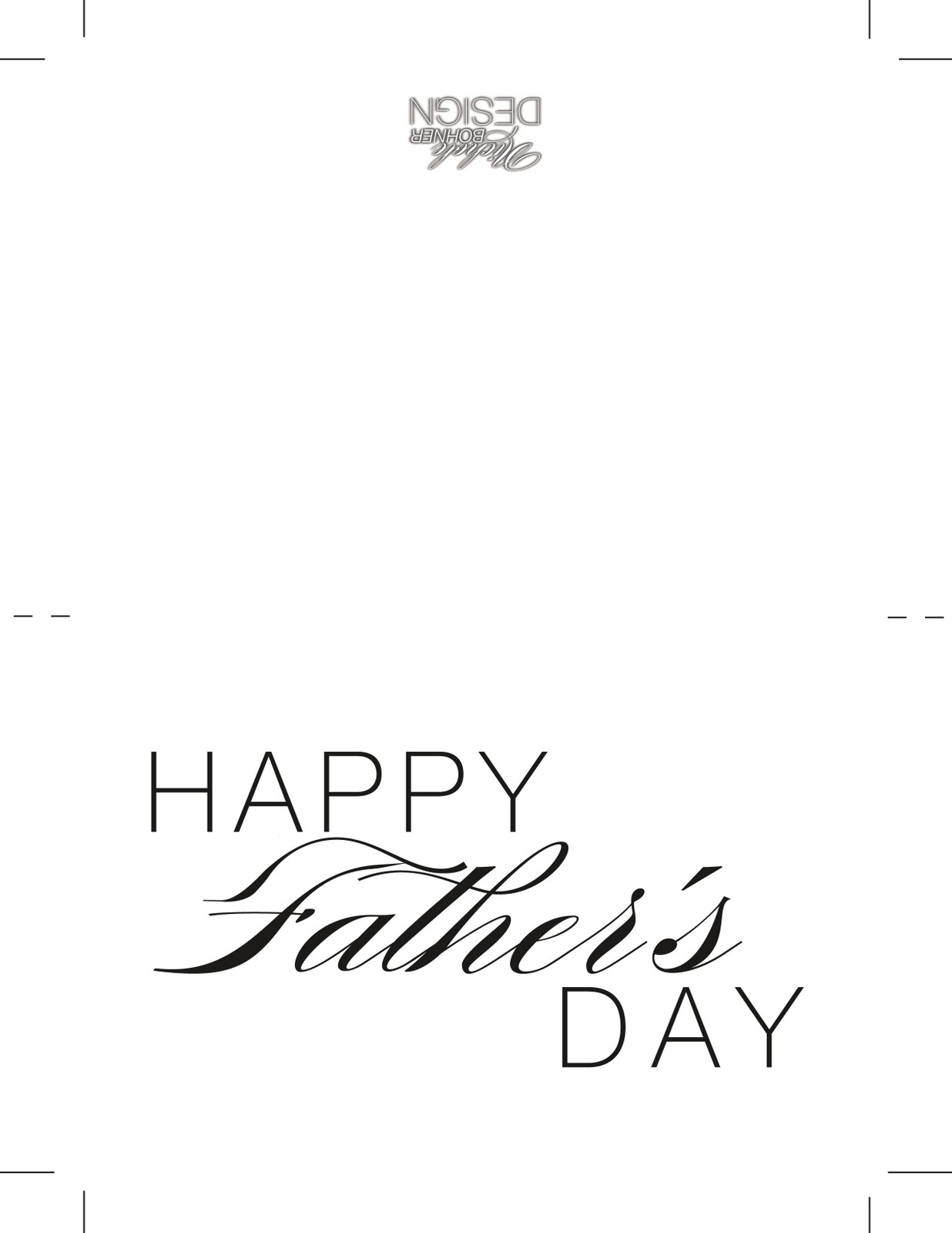 all my faves: FREE Father's Day Card & Envelope Download