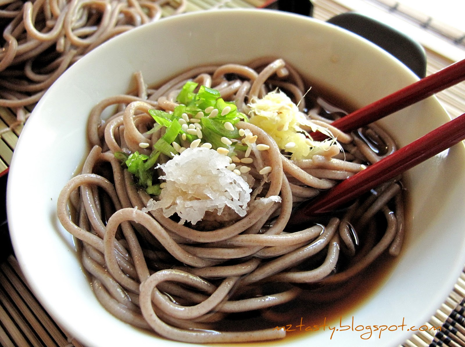 MzTasty's Kitchen, Savor The Flavor: Cold Soba Noodles ...