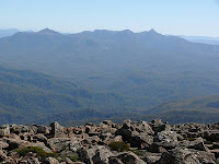 Anne Range from the summit of Snowy South - 15th March 2008