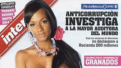 Modelo Dominico Haitiana Es Portada De Interviu Gazcue Es Arte