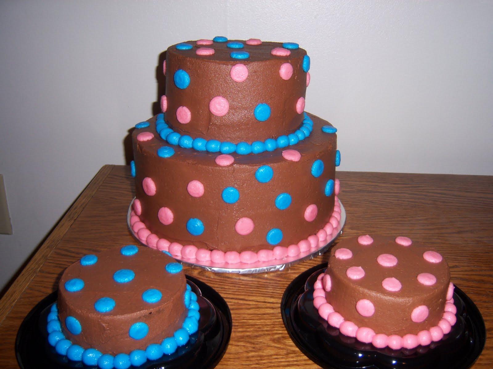 Creative Cakes By Angela Boy Girl Twin 1st Birthday Cake