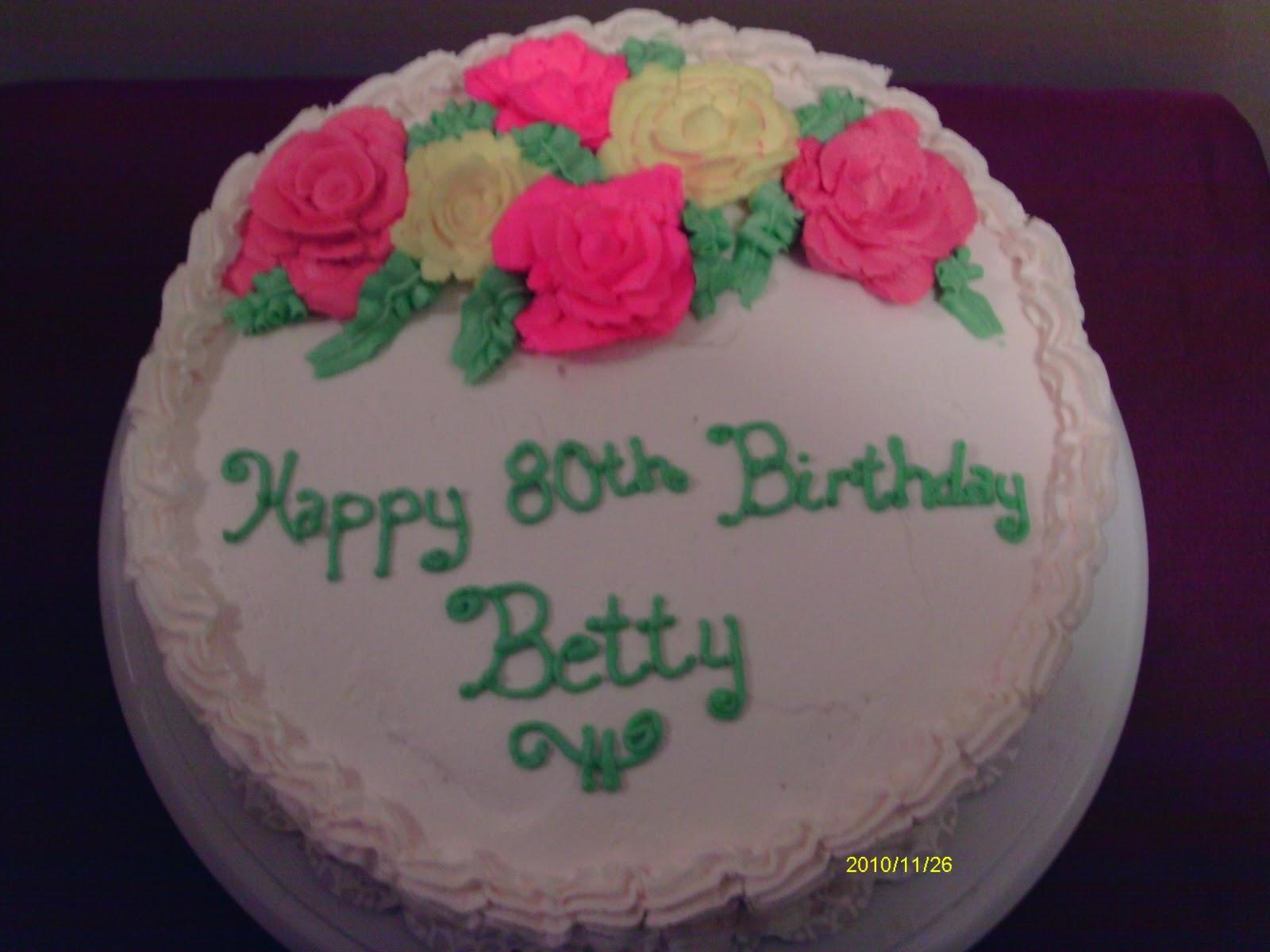 Inspired By Him Cakes Happy Birthday Betty