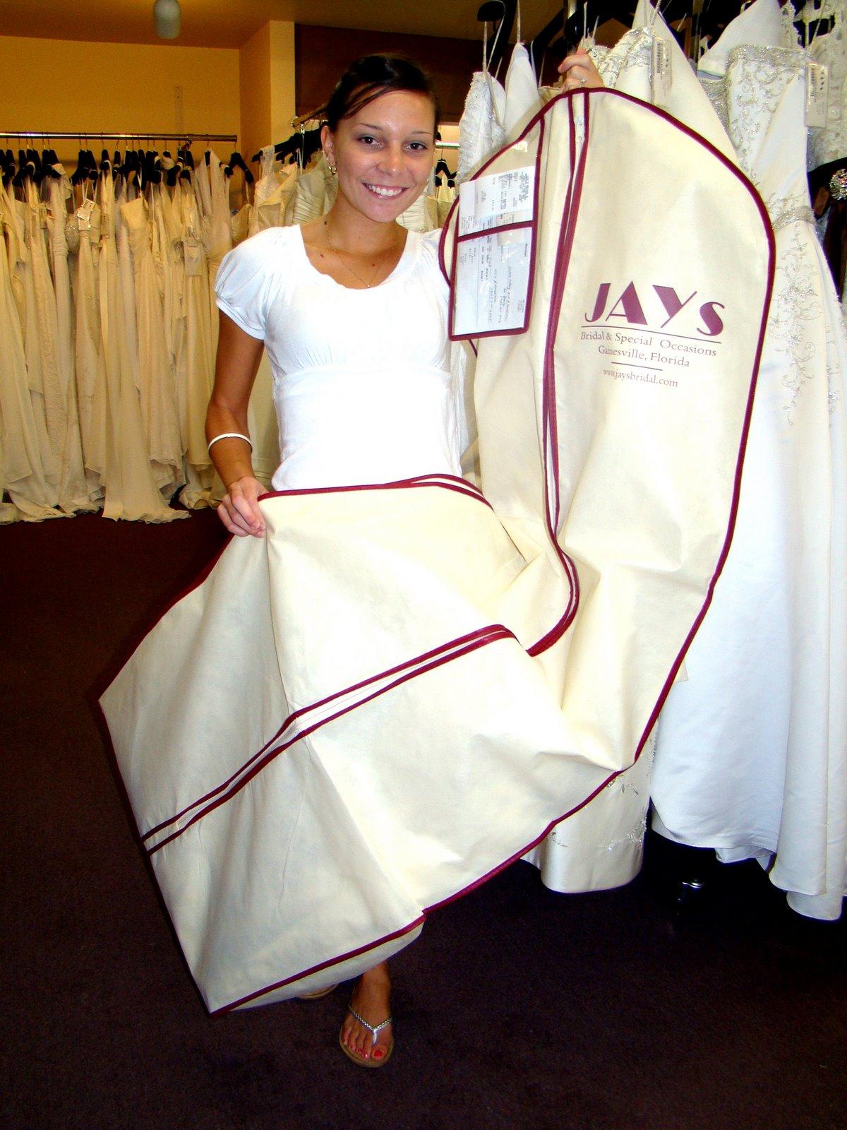 Wedding Dress Shopping!