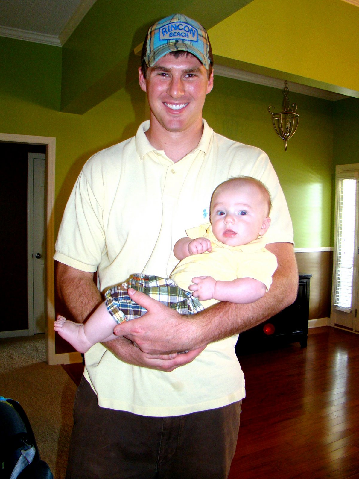 Zach's First Father's Day