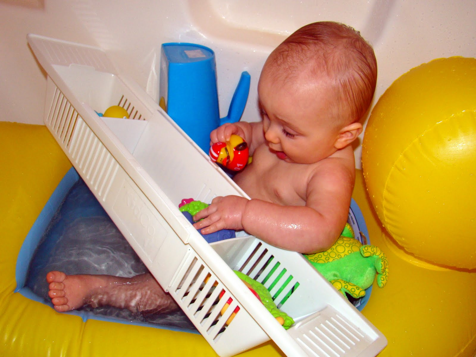 Bath-time Boy