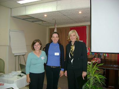 Dra. Tatiana Vidaurre y Maria Matos