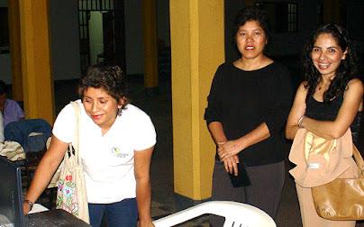 Susana Wong y Dra. Mivael Olivera oncologa del INEN