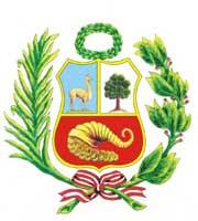 Dibujo del Escudo del Perú