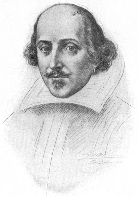 Dibujo de William Shakespeare