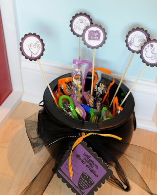 Fall and Halloween Craft Ideas  The Polka Dot Chair