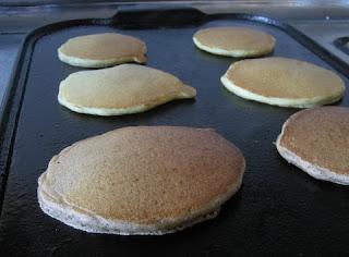 photo of sourdough pancakes by Mental Masala