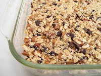 Photo of homemade granola bars