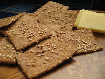 Photo of home-made crackers