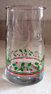 Photo of Arby's Christmas Glass