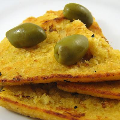 Faina - Farinata - Socca a Chickpea or Garbanzo Golden Crispy Delight!