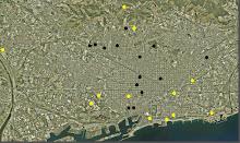 Indice e Localização das Obras na Cidade