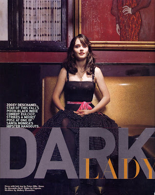 Zooey Deschanel from Hollywood Life Magazine