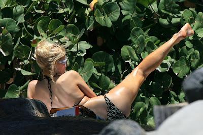 Paris Hilton Bikini Candids