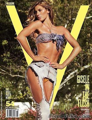 Gisele Bündchen in V Magazine (Fall 2008)