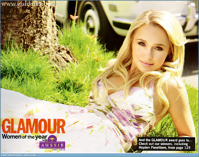 Hayden Panettiere Pictures from Glamour Magazine
