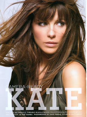 Kate Beckinsale in California Style Magazine