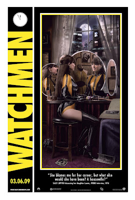 Laurie Juspeczyk / Silk Spectre II Poster from Watchmen Comic Con Posters (Hi Res)