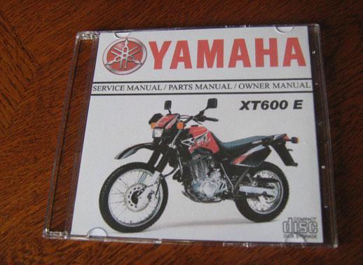 yamaha xt600e manual