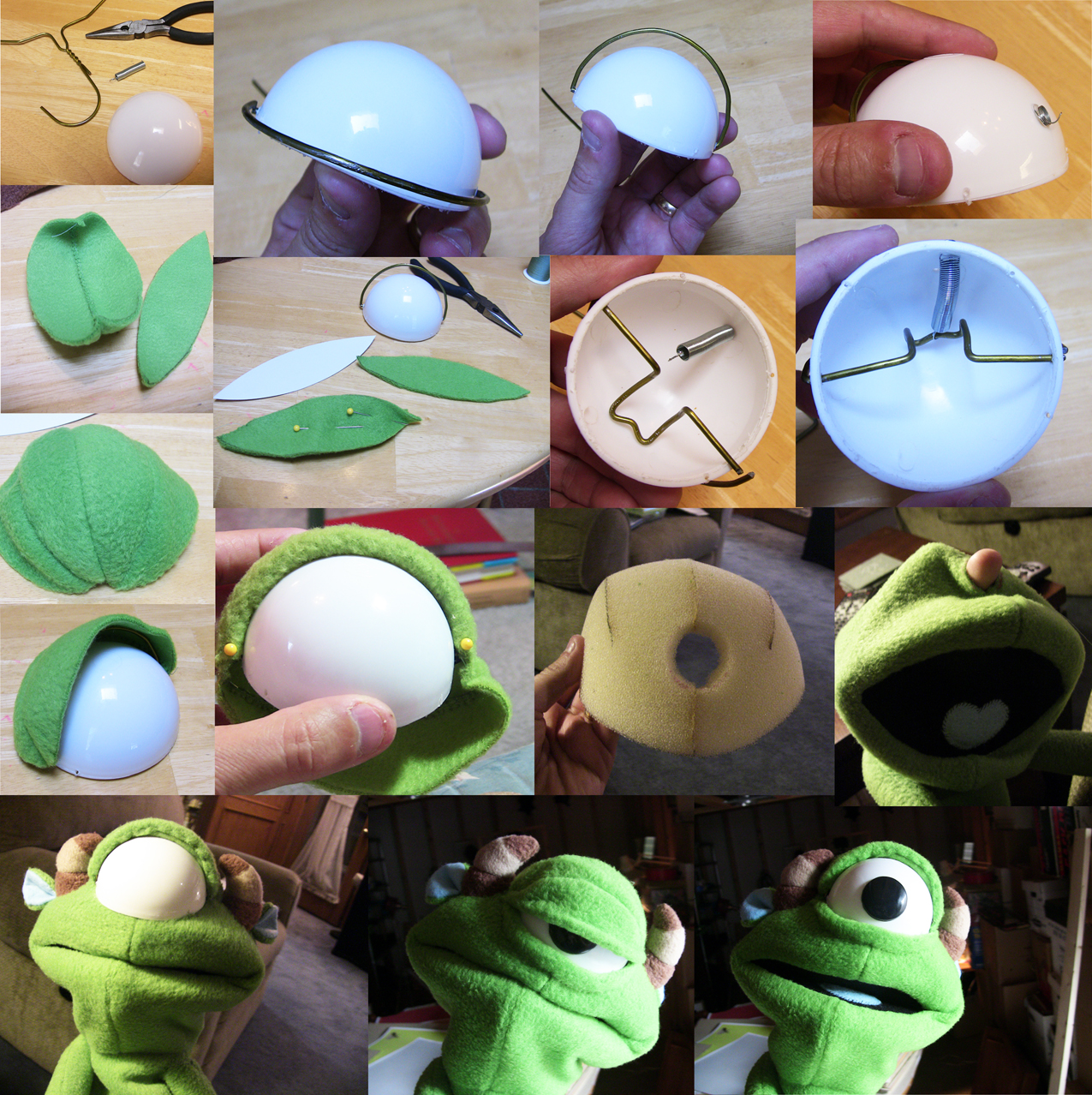 Puppets, Head Shapes And Under Construction On Pinterest