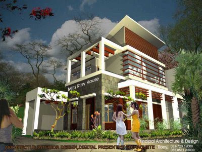 desain rumah unik on Jasa konsultasi konsultan arsitek murah