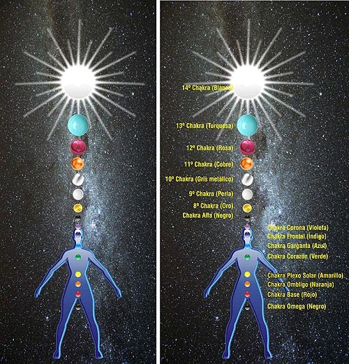Resultado de imagen de nuestros 33 chakras