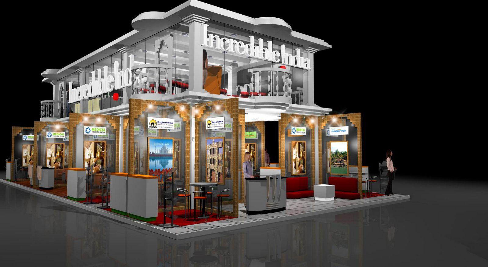 Virtual House Design Gurooji Design India Pavillion Exhibition Stand Atm