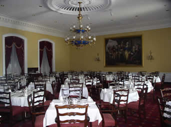 senate dining room. The picture above is a shot of the Senate Dining Room  part government run Restaurants and it looks pleasant enough Because I m Right Shock in Washington Private Business More