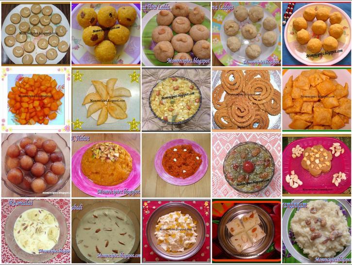 Mom's Recipies: Diwali Recipes