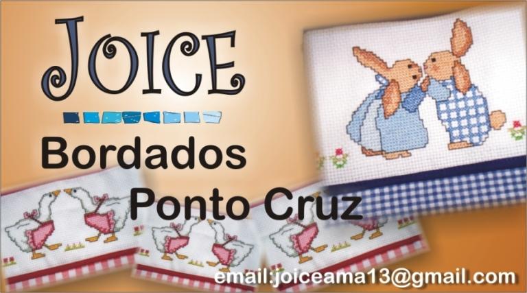 Joice Bordados em Ponto Cruz