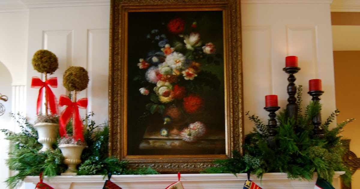 Imparting Grace: A Christmas Mantel