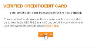 mb7 Hướng dẫn add thẻ visa vào tài khoản Moneybookers