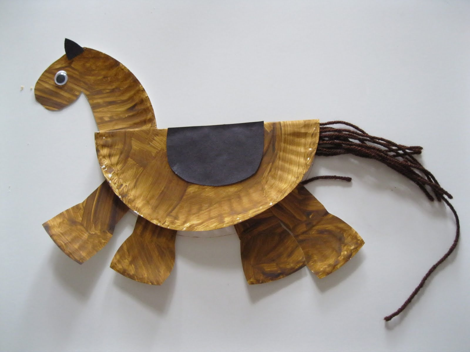 Easy Paper Plate Crafts Easy Horse Crafts For Kids Farming Crafts For Kids Crafts Kids Farms