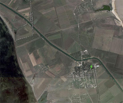 Армянск - фото из космоса