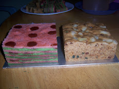 Sweet Sour Layer Cake & Fruit Cake