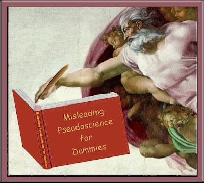 God of the Gaps pens the Misleading Pseudoscience for Dummies, and allegorical text that scores Z- in science.