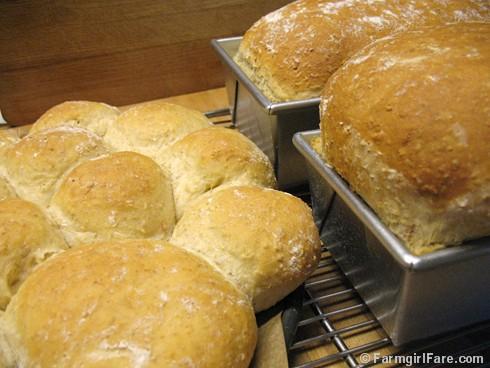 Farmgirl Fare How To Shape Bread Dough Into Sandwich