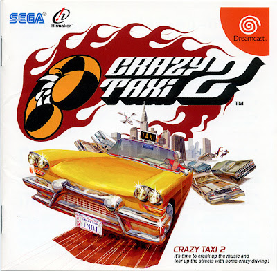 Crazy Taxi game video pics