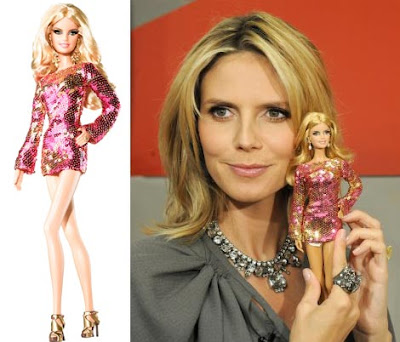 Heidi Klum Barbie At New York Fashion Week Fashion Design