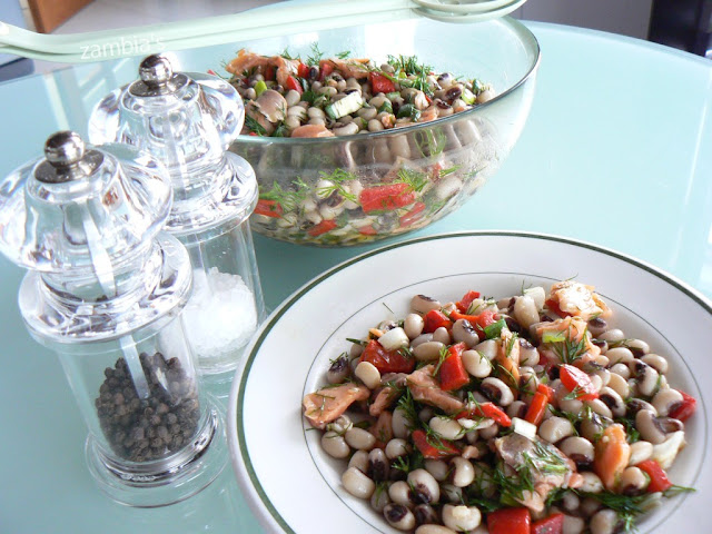 Black-Eyed Beans's Salad